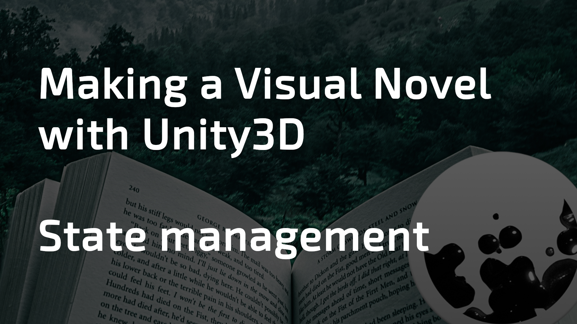 featured image thumbnail for post Making a Visual Novel with Unity (4/5) - Variables and state management